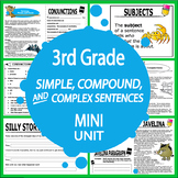 Simple, Compound, & Complex Sentences Activities–Dependent & Independent Clauses