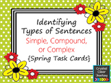 Identifying Simple, Compound, or Complex Sentences - Sprin