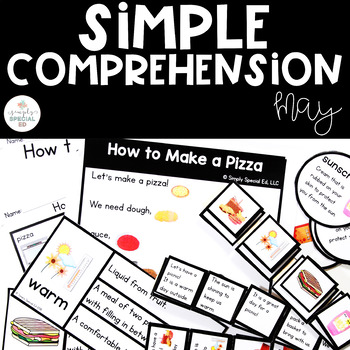 Simple Comprehension May: for Special Education