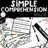 Simple Comprehension March: for Special Education