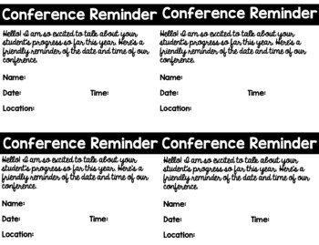 Simple Conference Forms