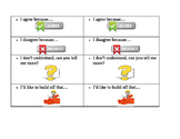 Simple Conversation Starters for Partner/Group Work Discussions