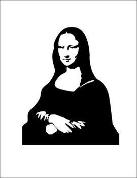 Simple Cooperative Drawing - Mona Lisa