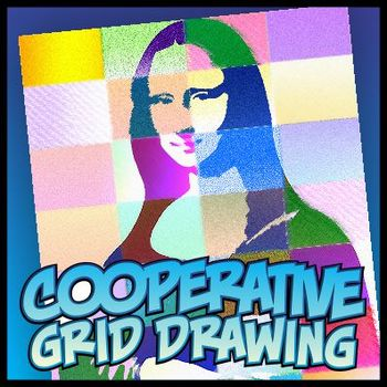 Simple Cooperative Drawing - Mona Lisa