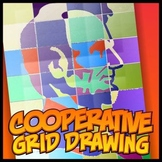 Simple Cooperative Drawing - Abraham Lincoln