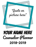 Simple Counselor Planner 2018-2019