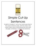 Simple Cut-Up Sentences