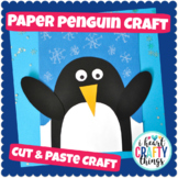 Simple Cut and Paste Penguin Craft