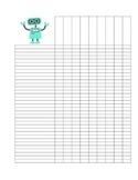 Simple Cute Grade Organizer