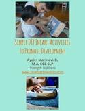 Simple DIY Infant Activities to Promote Development