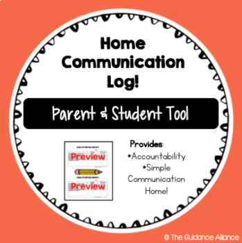 Simple Daily Progress Home Communication Log! A Tool for Parent Communication