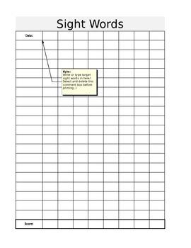 Simple Data Sheets - EDITABLE