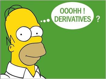 Simple Derivatives Problem Using Formulas