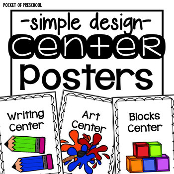 Simple Design Center Signs and Station Signs