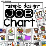 Simple Design Classroom Job Chart