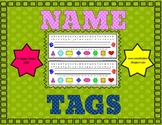 Simple Desk Name Tags