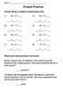 Division Introduction Practice/Assessments