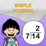 Simple Division Worksheet Maker - Create Infinite Math Worksheets!