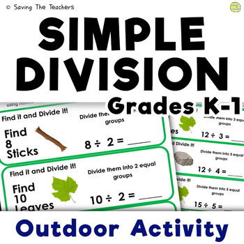 Simple Division Outdoor Activity