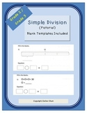 Simple Division Pictorial Grades 2 and 3