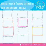 Frames - Simple Doodle Frames Collection  - 192 Frames/Borders