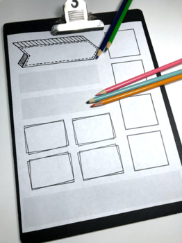 Simple Doodle Note Templates - Basic Page Layouts