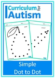 Beginner Dot to Dot Autism Fine Motor Pencil Skills