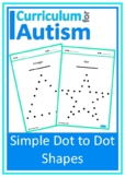 Simple Dot to Dot Shapes Autism Fine Motor Skills