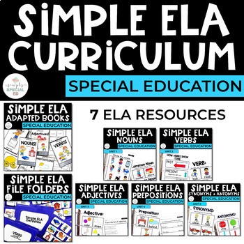 Simple ELA FULL Curriculum Bundle