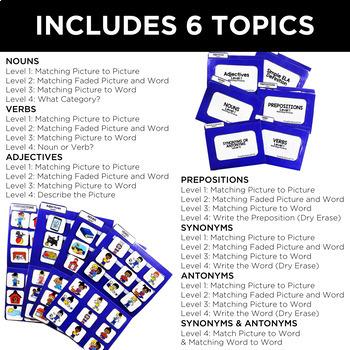 Simple ELA File Folders for Special Education
