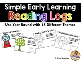 Simple Early Learning Reading Logs | Special Education | Primary