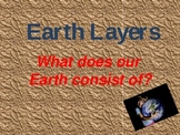 Simple Earth Layers Powerpoint