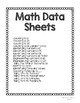Simple & Easy-to-Use Data Sheet Bundle for Special Education