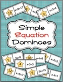 Simple Equation Dominoes