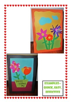 Simple, Eye-catching Mother's Day Card