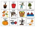Simple Fall Bingo Boards