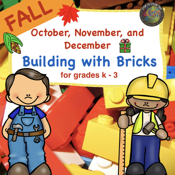 Simple Fall Brick Building  STEM Challenges