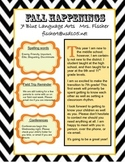 Simple Fall Newsletter Template