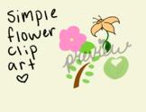 Simple Flower Clip Art