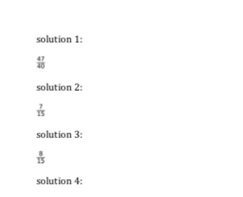 Simple Fraction Addition (FREE - 4 Questions)
