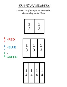 Simple Fraction Handouts and Worksheets