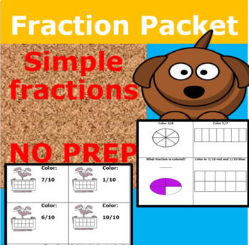 Simple Fraction Packet