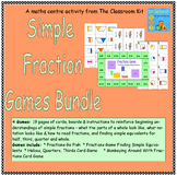 Simple Fractions Games Bundle