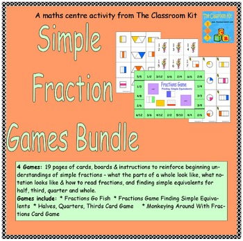 Simple Fractions Games Bundle
