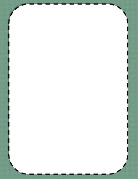 Simple Frames with Borders