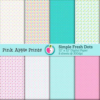Springtime Simple Fresh Dots