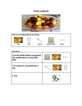 Simple Fruit Cocktail Recipe SPED