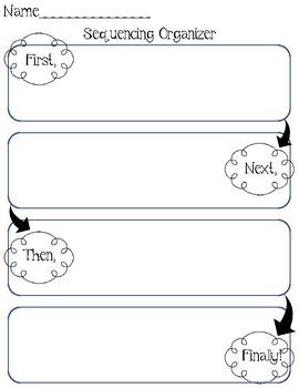 Simple Fun Sequencing Organizer