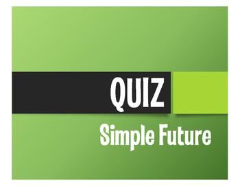 Spanish Simple Future Quiz