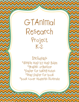 Simple GT Research Project K-2